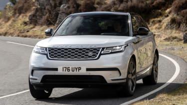 Range Rover Velar SUV front cornering