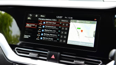 Kia e-Niro - infotainment screen