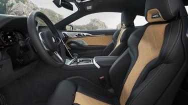 BMW M8 Competition coupe - cabin