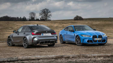 2021 BMW M3 and M4 xDrive