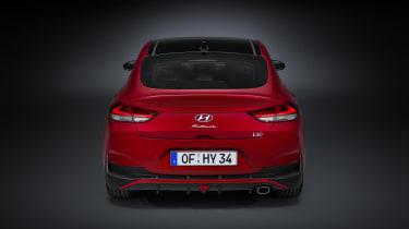 2020 Hyundai i30 Fastback rear end