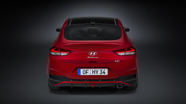 2020 Hyundai i30 Fastback rear end