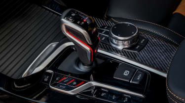 BMW X3 M Competition SUV gear-lever