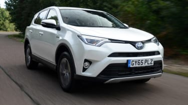 The Toyota RAV4 Hybrid marks the arrival of the fuel-saving technology in the small SUV