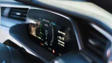 Audi e-tron SUV display