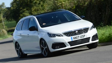 The Peugeot 308 SW is an estate version of the popular hatchback family car