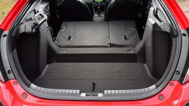 Honda Civic hatchback boot seats folded