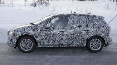 BMW 2 Series Active Tourer in camouflage - side