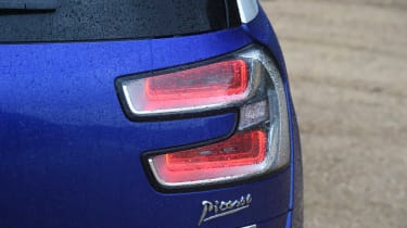 Three-dimension rear light clusters are a Citroen hallmark and add sophistication to the design