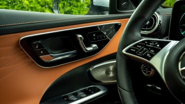 Mercedes C-Class Estate door controls