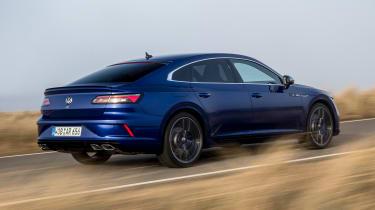 2021 Volkswagen Arteon R fastback - rear 3/4 dynamic