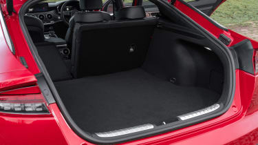 2021 Kia Stinger boot - seat down