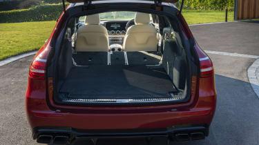 Mercedes-AMG E 63 estate boot - seats down