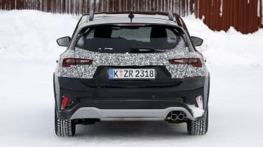 2021 Ford Focus prototype - rear end