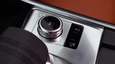 Jaguar XF saloon centre console