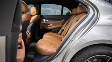 Mercedes E-Class E 300 e hybrid - rear seats