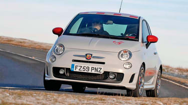 Abarth 500 - front