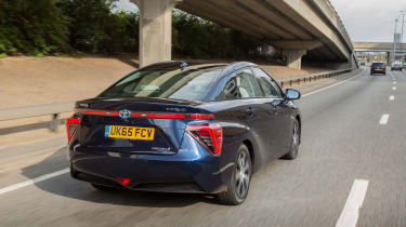 The Toyota Mirai is currently the only hydrogen fuel cell car on sale in the UK