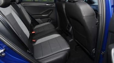 Volkswagen T-Roc R rear seats