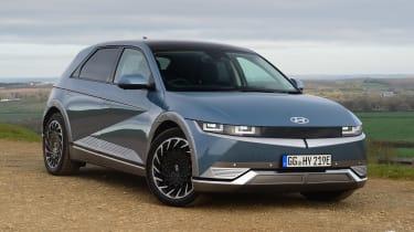 Hyundai Ioniq 5 drive - front 3/4 static