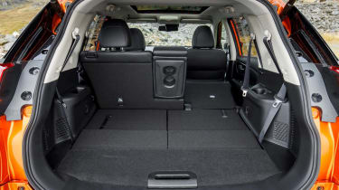 2017 Nissan X-Trail - boot space 2 rear seats up