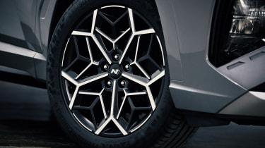 Hyundai Tucson N Line alloy wheel