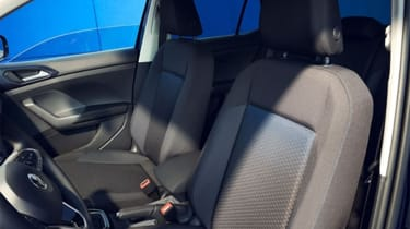 Volkswagen Polo, T-Cross and T-Roc United editions launched - seat upholstery