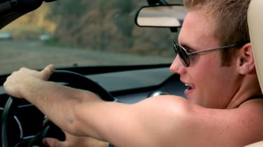 Topless driving