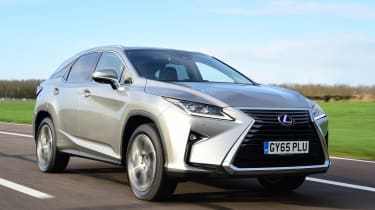 The Lexus NX is one of the most striking SUVs on the road