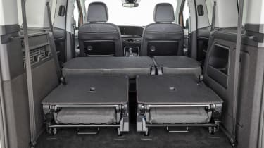 Volkswagen Caddy boot - seats down
