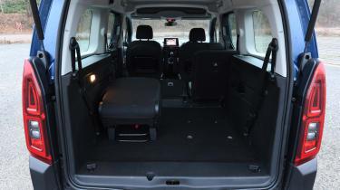 Citroen Berlingo MPV boot luggage volume