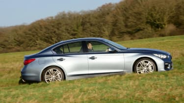 Rivals including the Lexus IS, BMW 330e iPerformance and Mercedes C350e should be cheaper to run, with lower CO2 emissions