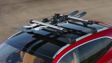 Aston Martin DBX ski rack