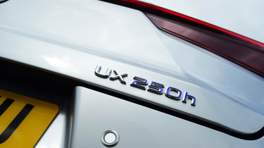Lexus UX badging