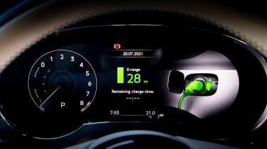 Bentley Bentayga Hybrid instrument display