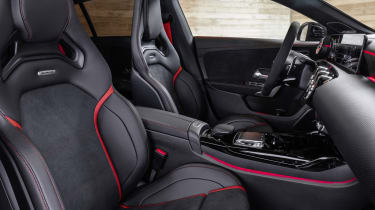 2019 Mercedes-AMG CLA 45 S Shooting Brake - interior front seating