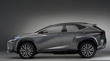 Lexus 4x4 LF-NX concept 2013 side
