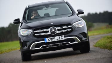 Mercedes GLC SUV nose
