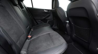 Ford Focus ST hatchback rear seats