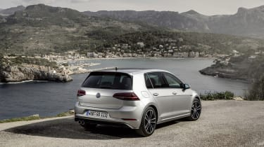 The Golf GTD uses a 2.0-litre TDI diesel engine with 181bhp