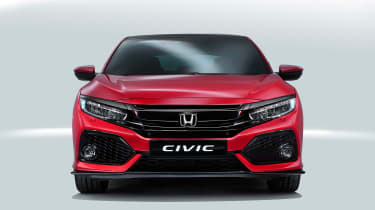 The New Civic could never be mistaken for the previous model