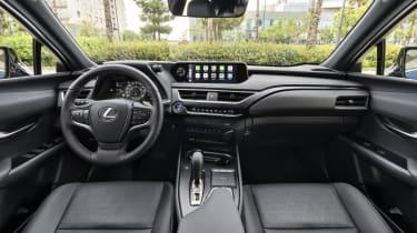 Lexus UX 300e SUV interior