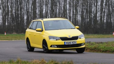 Like the Fabia hatchback, the estate is comfortable and good to drive