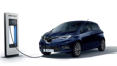 Renault ZOE Riviera Limited Edition - charging
