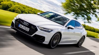 Audi S7 Sportback - front quarter dynamic
