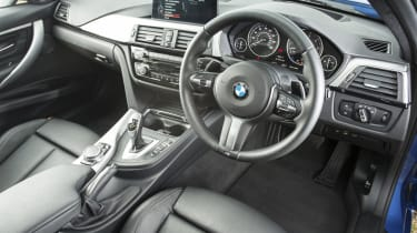 The dashboard might be familiar, but it feels sturdy and the controls are easy to understand