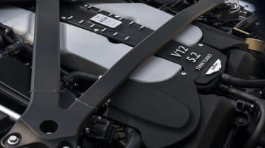 Aston Martin DBS Superleggera Volante engine