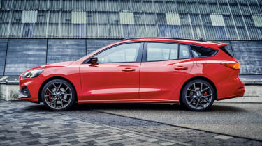 2019 Ford Focus ST estate - side view