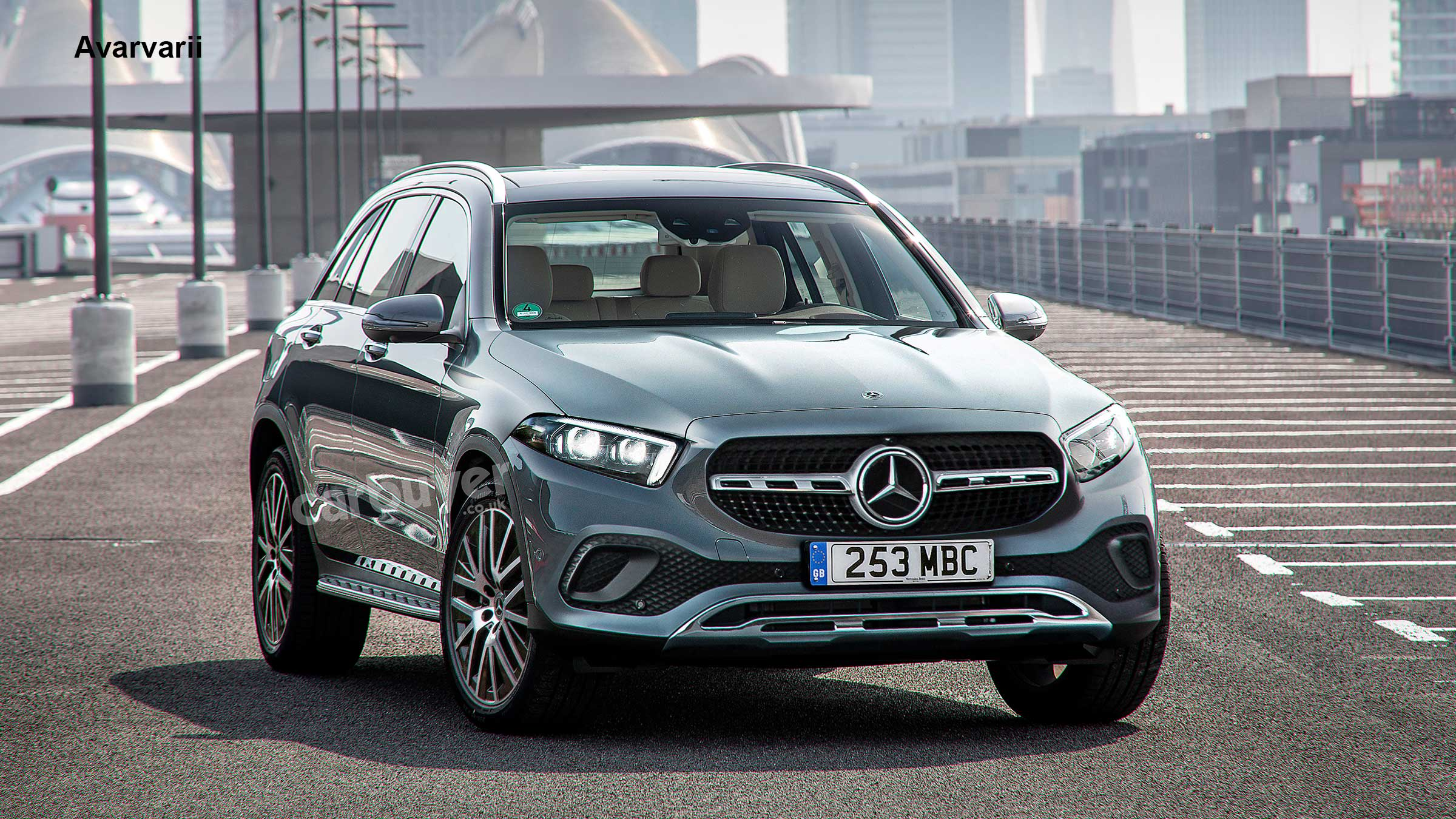 5 Mercedes GLC replacement previewed  Carbuyer