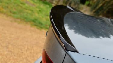 Skoda Octavia vRS hatchback rear spoiler